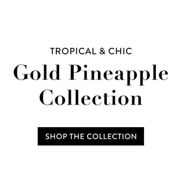 Gold Pineapple Collection from TanyaDraws