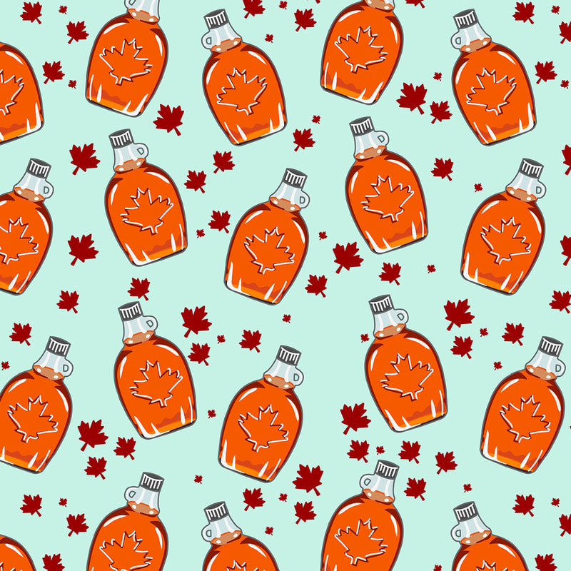 Super Canadian Maple Syrup Pattern