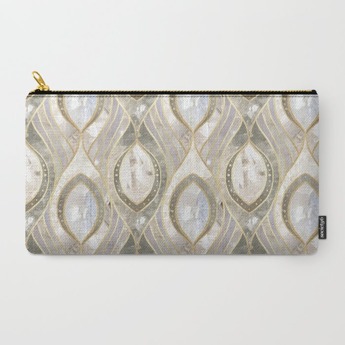 Quartz Pattern Carry All Pouch from Society6